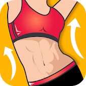 Abs workout - fat burning at home icon
