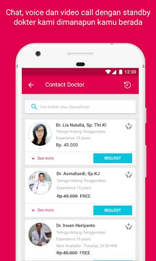 Halodoc - Doctors, Medicines & Lab test  screenshots 4