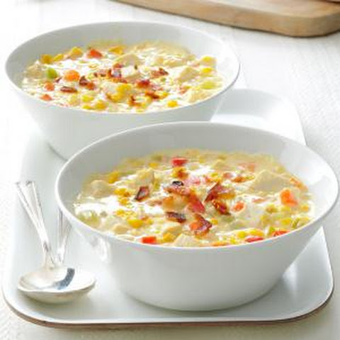 Chicken corn chowder recipe evaporated milk