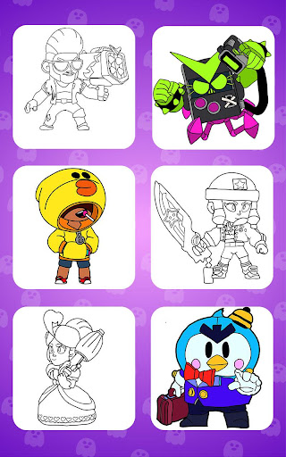 Coloring for Brawl Stars modavailable screenshots 7