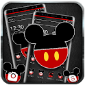 Cute Red Micky and Minnie Mouse Theme💝 icon