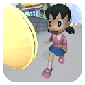 Shizuka Anime Girl Run Rush 3D icon