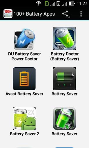 100+ Battery Apps
