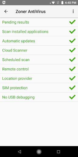 Zoner AntiVirus 1.15.2 screenshots 2