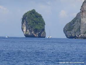 Photo: Phi Phi Islands in the Andaman Sea near Phuket