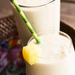 Vegan Pineapple Smoothies