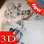 How To Draw 3D APK icon