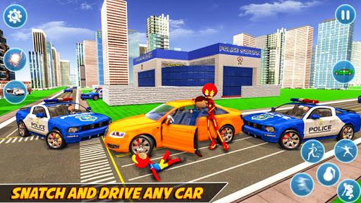 Flash Stickman Rope Hero u2013 Speed Hero Crime City 1.7 screenshots 4