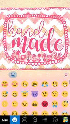 Hand Made Kika Keyboard - screenshot