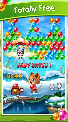 android Witch's Cat Bubble Pop Screenshot 0