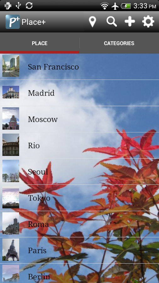 Places Check-In : Place+ Free - screenshot