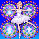 Pretty Ballerina Bubble Icon