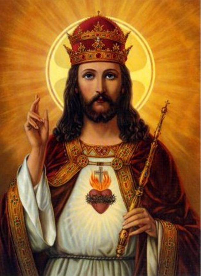 Resultado de imagen de cristo rey del universo