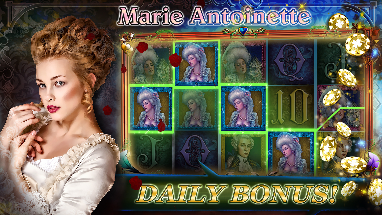 Marie Antoinette Slot - Play for Free & Win for Real