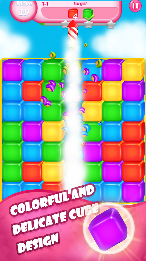 Pop Tap Cube- screenshot