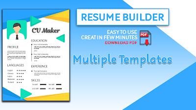 Resume Builder Cv Maker Cv Templates Apk Download Apkindocoid