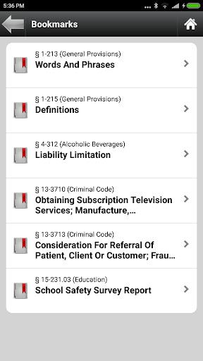 Arizona Statutes, ARS (AZ Law)  screenshots 8