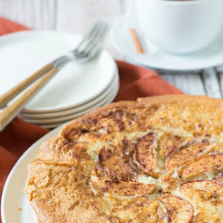 Fool Proof Gluten Free Creamy Apple Cake