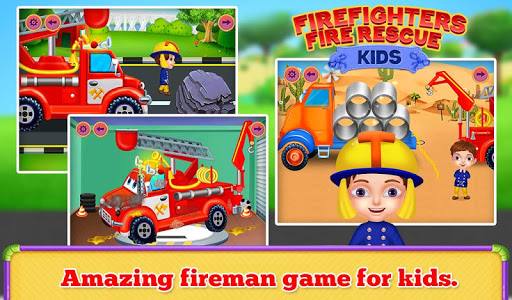 Firefighters Fire Rescue Kids  screenshots 4