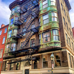 Beacon Hill Rowhome by Chris Montcalmo - Buildings & Architecture Homes ( city, neighborhood, building, architecture )