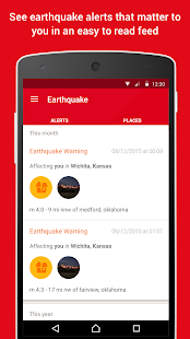 Earthquake -American Red Cross Screenshot 1