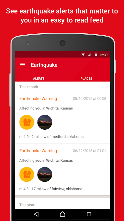 Earthquake -American Red Cross- screenshot