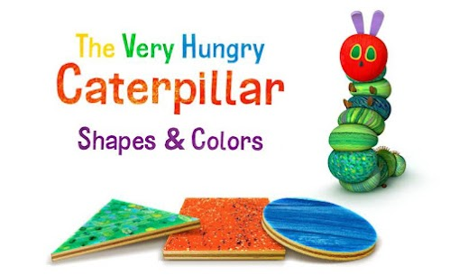 Hungry Caterpillar Shapes and Colors 1
