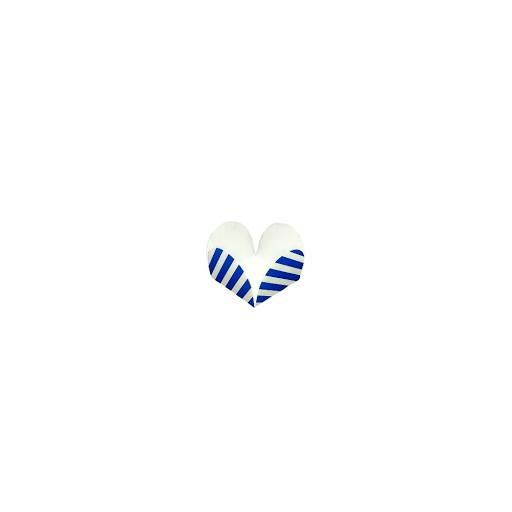 Capacillos Altolitho Azul Estampados Circulos/Rayas 25Und