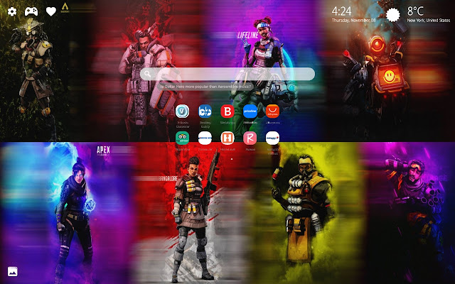 Apex Legends Wallpaper HD New Tab Theme