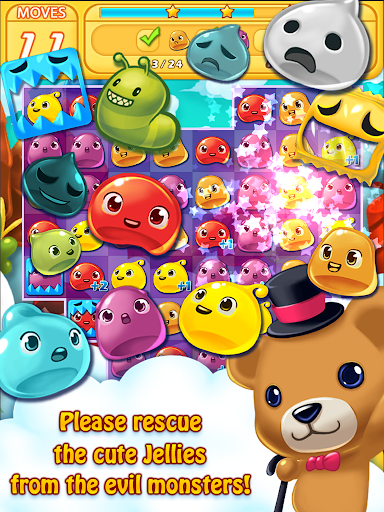 Jelly Jelly Crush - In the sky screenshots 8