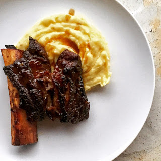 Braised Short Ribs + Black Truffle Mashed Potatoes.