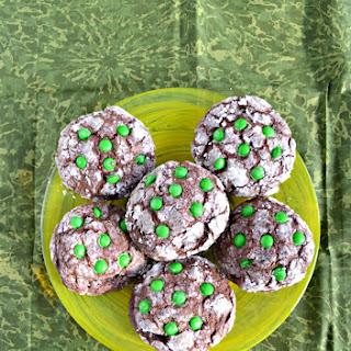 Thin Mint Stuffed Cookies.
