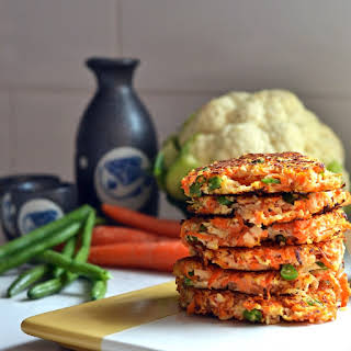 Cauliflower Fried Rice Fritters.