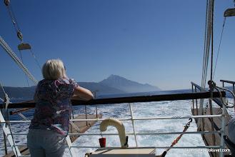 Photo: Athos-vuori jää taakse.