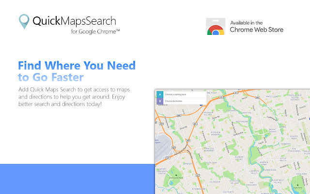 Quick Maps Search on