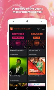 Hindi Romantic Songs 2014 by Gaana App Download For Android 1