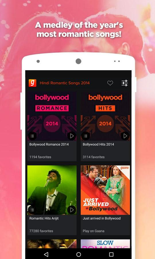 Hindi Romantic Songs 2014- screenshot