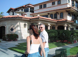 Photo: Anne and Yves in Laguna Beach 11/01  XB