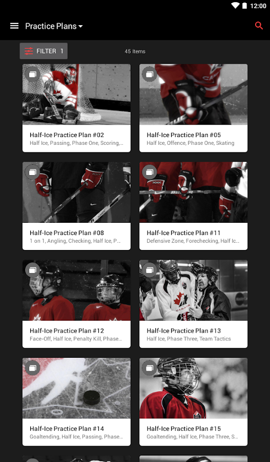 Hockey Canada Network- screenshot