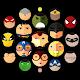 Superheroes Criss-Cross Racing