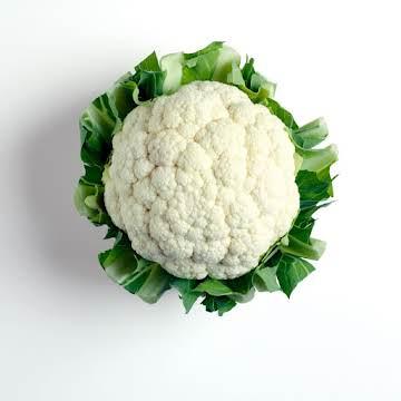 Cauliflower cheese slice