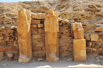 Photo: Statues at Saqqara