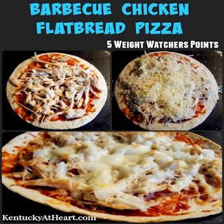 Barbecue Chicken Flatbread Pizza Recipe
