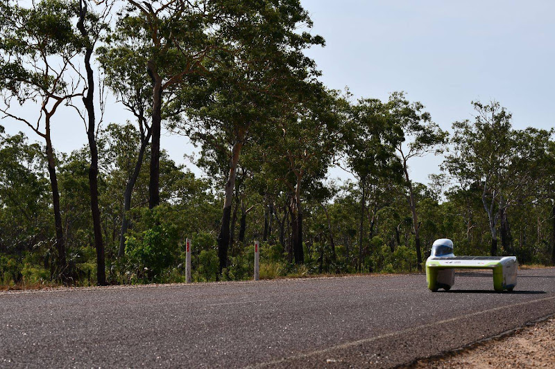 Testing our car on the Australian roads