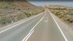 El accidente se ha producido en la carretera de las Hortichuelas hacia Las Negras.
