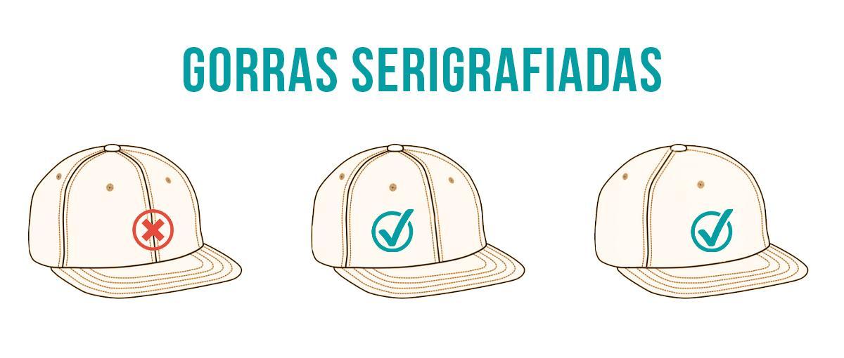 Gorras serigrafiadas con tu logo