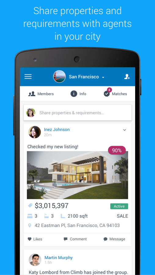 Agentdesks Realtor Network- screenshot