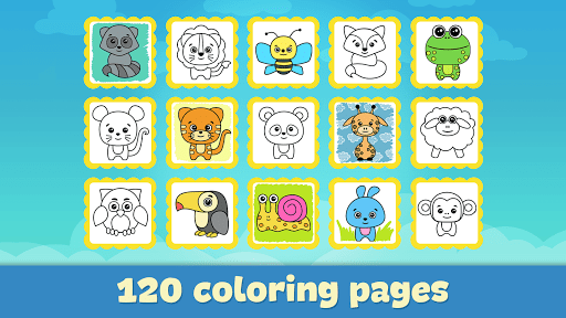 Coloring book for kids 1.102 Screenshots 6