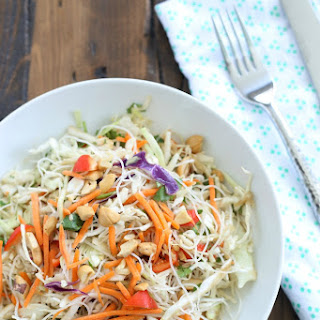 Crispy Asian Noodle Salad for #SundaySupper