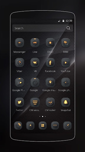 Cool Black for Samsung/Huawei 1.1.16 screenshots 12